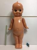 キューピー セルロイド 人形 特大 68.0cm 350g 当時物 マーク 刻印有 現状 【TO4145】