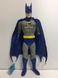 バットマン ソフビ人形 大型 39.0cm 当時物 版権有 1988 現状 【TO4149】