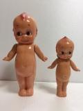 セルロイド キューピー 人形 大 24.5cm 当時物 JAPAN 現状 復刻版 刻印有 現状 【TO4157】