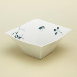野ばら 角小鉢|陶房青・和食器