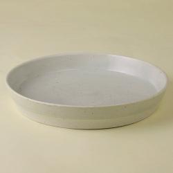 白 パン皿|陶房青・和食器