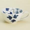 シダ紋 スープカップ|陶房青・和食器