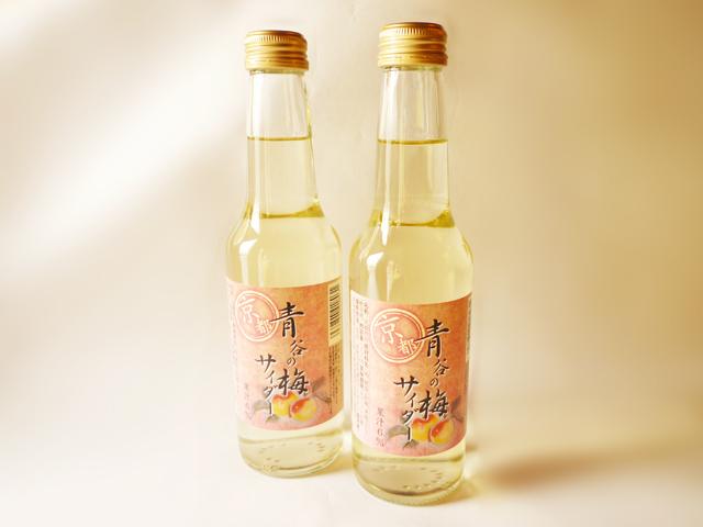 城陽酒造の梅サイダー