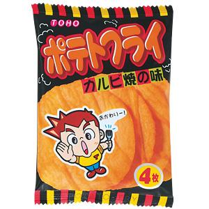 ポテトフライ カルビ焼味 20入