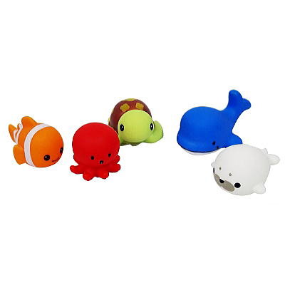 ぷかぷか人気の海の生き物 25入