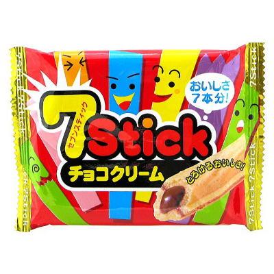 セブンスティック チョコクリーム 12入