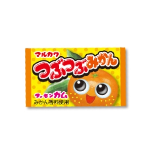 丸川製菓 つぶつぶみかんガム 60入