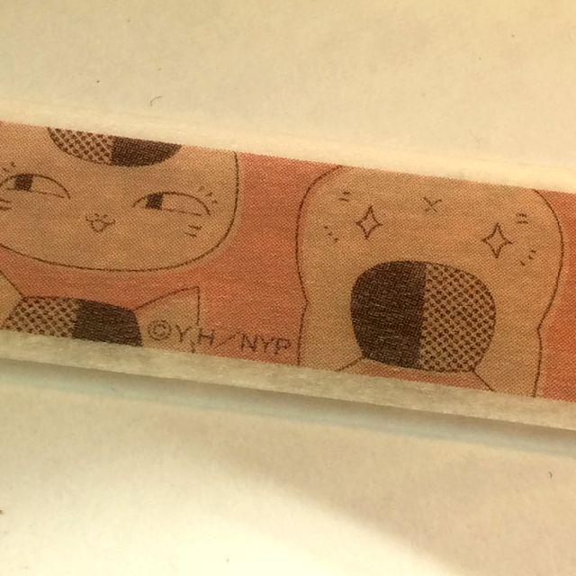 【送料164円】早い者勝ち!!大人気!の夏目友人帳ニャンコ先生マスキングテープ!