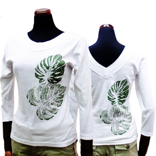 8分袖Tシャツ