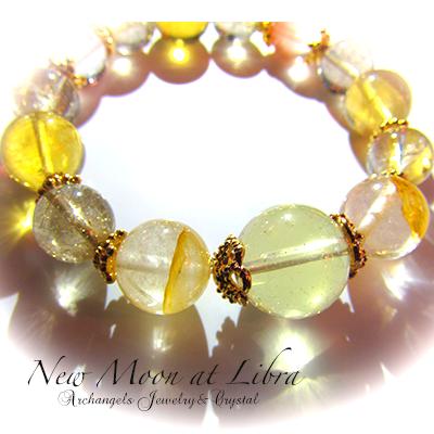 天然石 パワーストーン| 天秤座の新月 ブレス