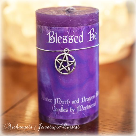ヒーリング・キャンドル,healing Candle,浄化,Blessed Be,祝福あれ,ヒーリンググッズ,アーキエンジェルズ,