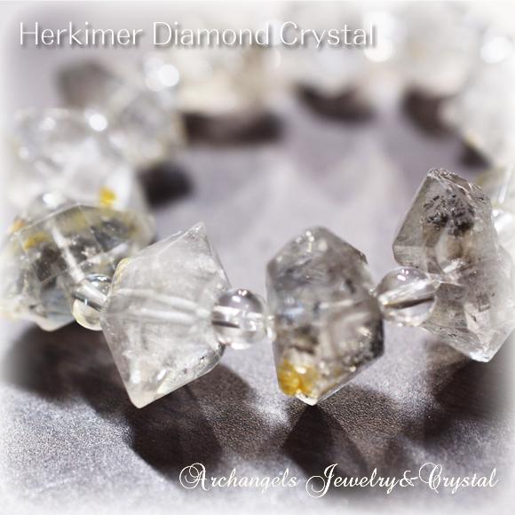 天然石 パワーストーン| ハーキマー・ダイヤモンド・クリスタル ブレスレット