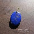天然石 パワーストーン| ラピスラズリ ペンダント