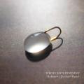 天然石 パワーストーン| 白翡翠 ホワイトジェイド ペンダント