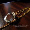 天然石 パワーストーン | ガネーシュヒマール ヒマラヤ産 クリスタル 水晶 クォーツ ペンダント