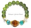 スペイン産アパタイトを使った「Healing your life」, apatite, spanish apatite, beads