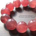 天然石 パワーストーン | ピンクエピドート ブレス 16mm