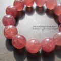 天然石 パワーストーン | ピンクエピドート ブレス 14.5mm