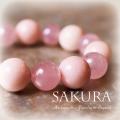 天然石 パワーストーン| 桜 SAKURA ローズクォーツ ピンクオパール ブレスレット