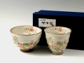花街道 茶碗 湯呑 ギフトセット(12か月の中から選んで下さい)