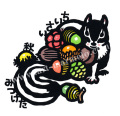 雨宮尚子の版画「ちいさい秋みつけた」