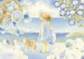 蓮田千尋の原画「Summer blue」