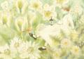 蓮田千尋の原画「White Spring」