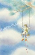 蓮田千尋の原画「雲」