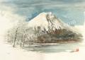 後藤勝美の版画「富士」、版画の通販専門店アート・マルメロ