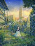 待井健一の版画「草の想い」、版画の通販専門店アート・マルメロ