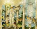 「イーハトーヴ」牧野鈴子の版画