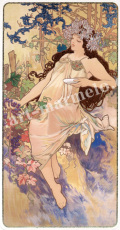 mucha「Autumn」