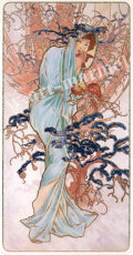 mucha「Winter」