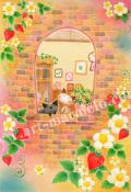 Sakuraの版画「Wild Strawberry」、版画の通販専門店アート・マルメロ