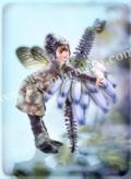 横田美晴の版画「B-Bridal Heath」