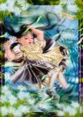 横田美晴の版画「POOL OF TEARS」