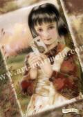 横田美晴の版画「Testimony of Alice」