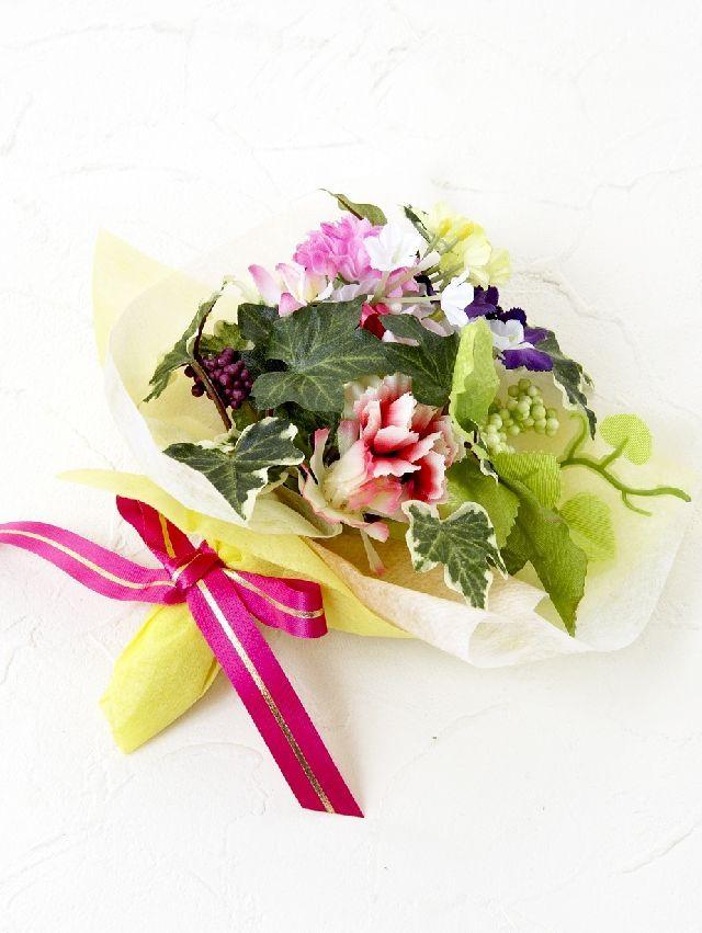 【造花ミニ花束】手のひらブーケ249