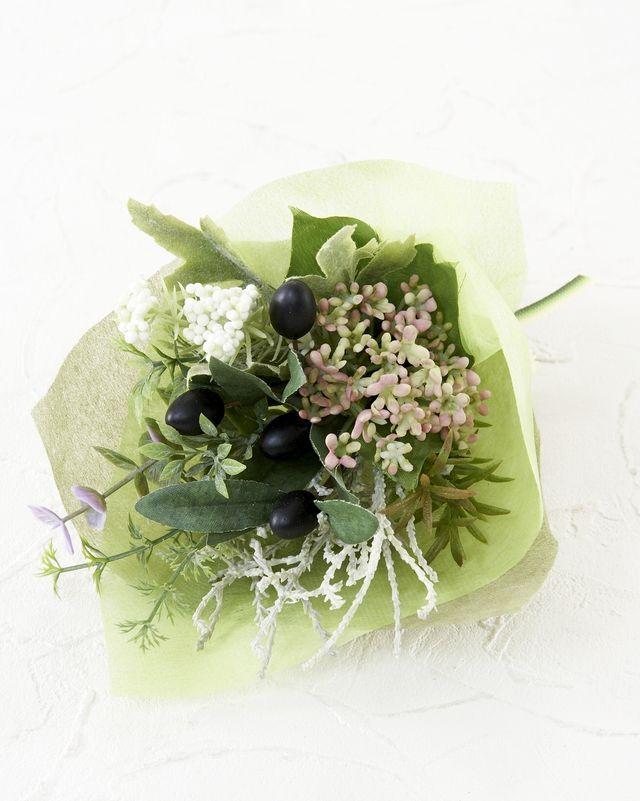 【造花ミニ花束】手のひらブーケ256