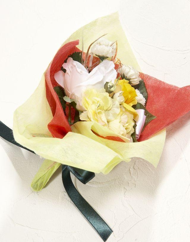 【造花ミニ花束】手のひらブーケN