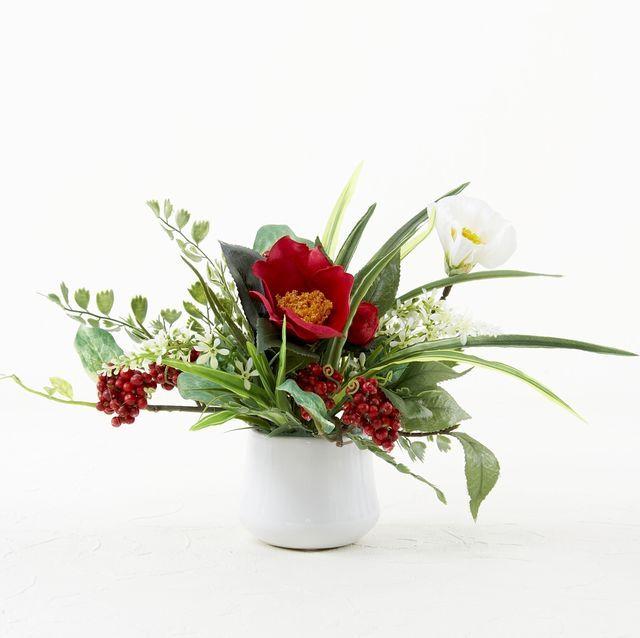 【造花アニマルアレンジ】ラブリーラビット(ブルーB)
