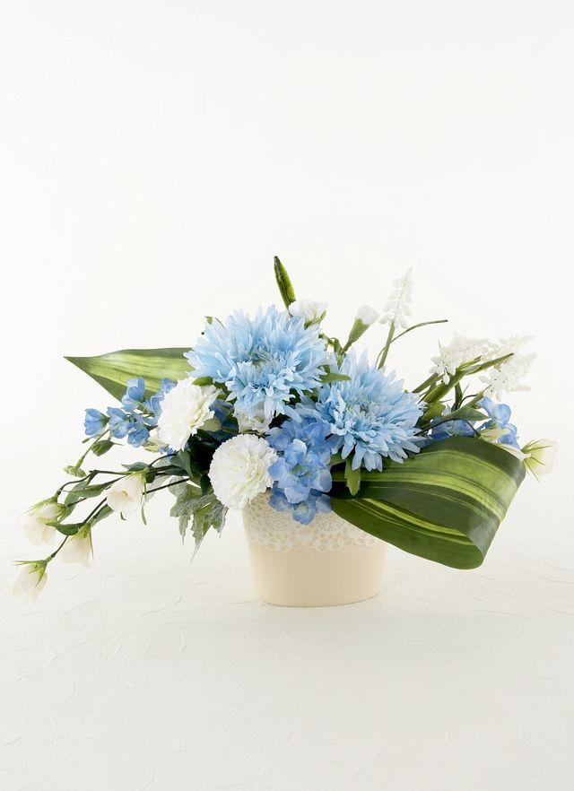 【造花仏花・供花アレンジメント】やすらぎ