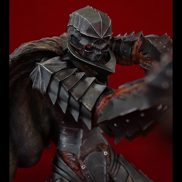 「狂戦士」Armored Berserk Skull Helmet Versionブラック版 【ニューイヤー2017記念】【クリスタル付き】※完売