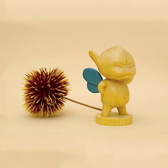 『くりパックアングリー』~ひのき材~(ブルーVer.)【30%OFF】