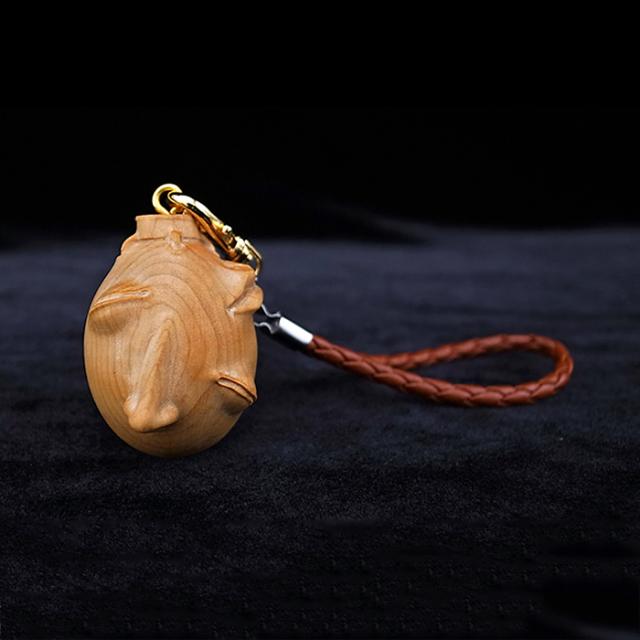 ベヘリット木製キーチャーム 覇王の卵