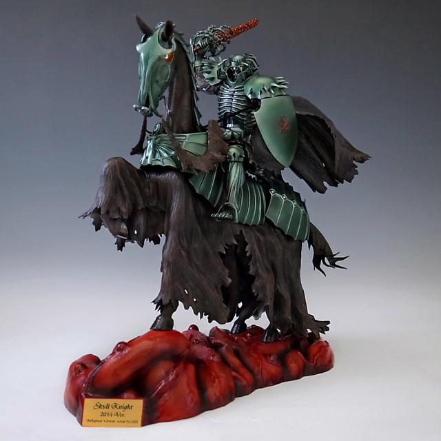 Skull Knight 2014 ダークグリーンVer. 【ホワイト・クリスタルアイ】 【限定生産20体】