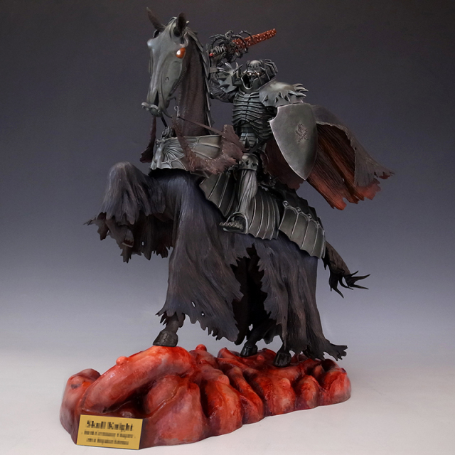 Skull Knight 2014Ver. 原作イメージリペイント【ホワイト・クリスタルアイ】 ※完売