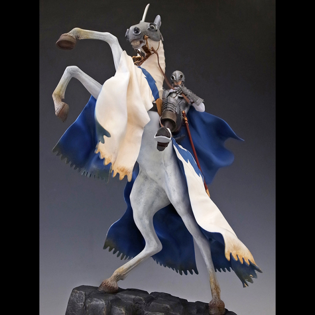 『グリフィス騎乗』(ドルドレイ攻略戦)1/10スケール ダークアイアンVer 【限定2体】
