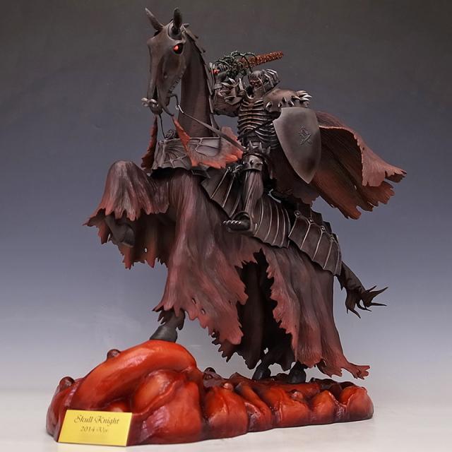 Skull Knight 2014Ver. 鉄さびリペイント レッド・クリスタルアイ 【限定4体】※完売