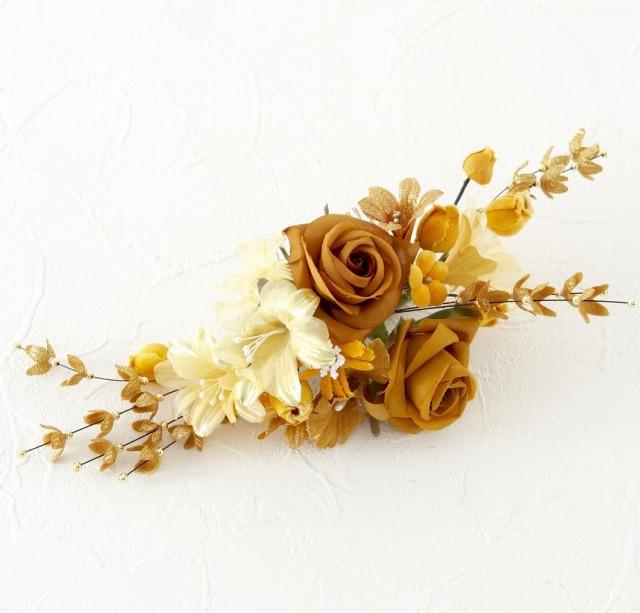 【10周年記念特別SALE価格】和洋・両用髪飾りE